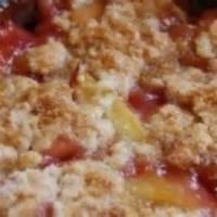 Fruit - Cranberry Peach Cobbler