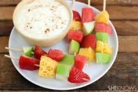 Fruit - Fruit Fresh Fruit With Mint-yogurt Dressing