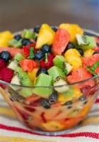 Fruit - Mixed Fruit -  Raspberry Pineapple Salad