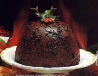 Fruit - English Plum Pudding (christmas Pudding)
