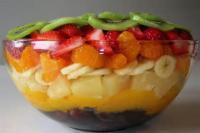 Fruit - Layered Fruit Salad