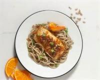 Fruit - Orange -  Nutty Orange Chicken Pasta Salad
