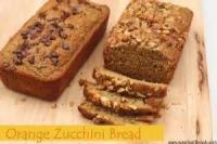 Fruit - Orange -  Orange Zucchini Bread