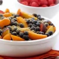 Fruit - Summer Fruit Compote With Strawberries And Blueberries