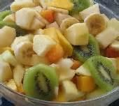 Fruit - Mixed Fruit -  Summer Fruit Salad With Honey Orange Sauce