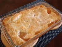 Fruit - Peach -  Crusty Peach Cobbler