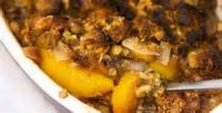 Fruit - Peach -  Peach Cobbler Pudding