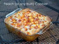 Fruit - Peach Cobbler