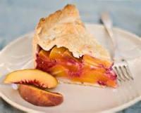 Fruit - Peach -  Deep Dish Peach Pie