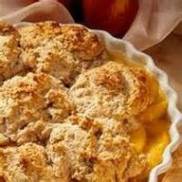 Fruit - Peach -  Easy Peach Cobbler By Pat T