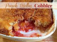 Fruit - Peach Melba Cobbler