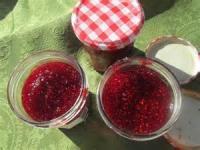 Fruit - Raspberry -  Microwave Raspberry Jam