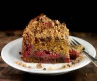 Fruit - Chocolate Raspberry Streusel Cake