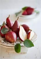 Fruit - Pear -  Scarlet Pears