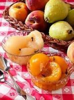 Fruit - Peach -  Spiced Peaches Or Pears