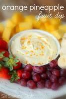 Fruit - Pineapple Cream Cheese Dip
