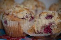 Fruit - Raspberry Crumb Muffins