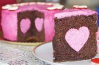 Fruit - Strawberry Chocolate Mousse Cake
