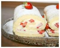 Fruit - Strawberry Cream Roll