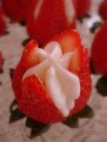 Fruit - Strawberry -  Cream-filled Strawberries