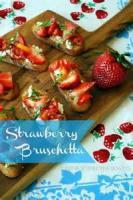 Fruit - Strawberry -  Strawberry Bruschetta