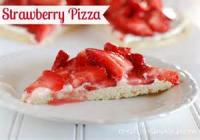 Fruit - Strawberry -  Strawberry Pizza