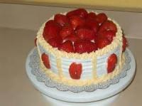 Fruit - Strawberry -  Strawberry Mousse Butter Cake