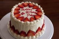 Fruit - Strawberry Cake