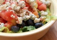 Fruit - Strawberry -  Strawberry Blue Cheese Salad