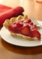 Fruit - Strawberry -  Strawberry Cream Pie