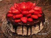 Fruit - Strawberry -  Fresh Strawberry Cake