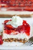 Fruit - Strawberry -  Jello Pretzel Salad