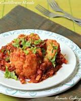 Indian - Vegetable -  Cauliflower Masala
