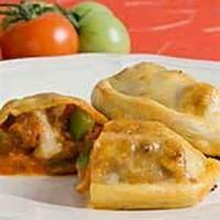 Italian - Italian Sausage And Mushroom Calzones