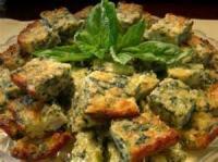 Italian - Spinach Squares