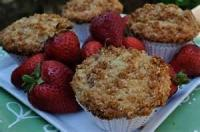 Fruit - Strawberry -  Strawberry Streusel Muffins