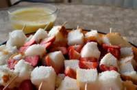 Fruit - Strawberry -  Strawberry Shortcake With Fresh Strawberry Sauce