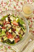 Fruit - Strawberry And Spinach Salad With Lemon Dressing