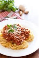 Italian - Pasta -  Spaghetti With Meat Sauce