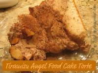 Italian - Tiramisu Angel Torte