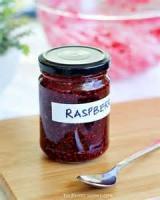 Jams And Jellies - Raspberry -  Microwave Raspberry Jam