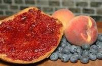 Jams And Jellies - Spiced Peach And Blueberry Jam