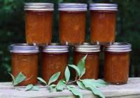 Jams And Jellies - Jam -  Peach Jam With Pectin