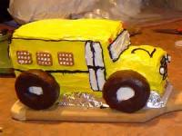 Kids - School Bus Cake