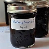 Jams And Jellies - Jam -  Blueberry Jam-diabetic