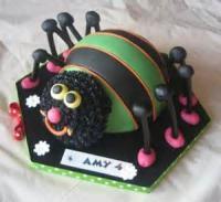Kids - Cake -  Spider Cake