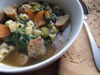 Italian - Soup -  Crockpot Wedding Soup