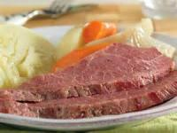 Low_fat - Beef -  Corned Beef And Cabbage Dinner