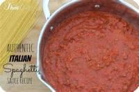 Italian - Sauce -  Spaghetti Sauce