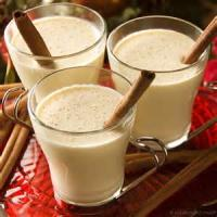 Drinks - Cooked Egg Nog